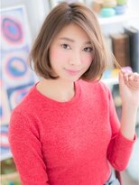 マカロン 郡山駅前店(macaron)【macaron】ラフ可愛い☆ワンカール小顔ボブ