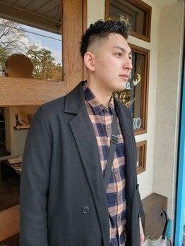 ニコ(25-niko-)の写真/[阪急高槻]メンズカットはaskaさんにお任せ★クセや髪質も活かして,魅力を引き出した男前な仕上がりに!