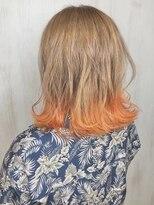 ソース ヘア アトリエ(Source hair atelier)【SOURCE】オレンジグラデーション