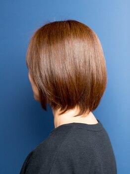 ルルヘアー(Lulu hair)の写真/【大人女性必見!】気になる白髪をオシャレなカラーに大変身させませんか?