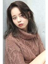 フェス カットアンドカラーズ(FESS cut&colors)『FESS 鶴丸』【グラデーション×ラベンダーグレージュ】
