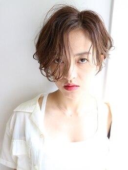 ミクマル(micmal)の写真/《松本駅徒歩1分の好立地☆》透明感&ツヤ感たっぷりのイルミナカラーが大人気♪髪の負担もかけにくい☆