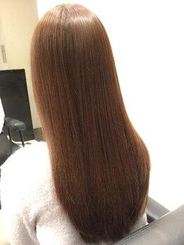 ラグゼ(Luxe)の写真/話題のミネコラ。ふわっと光る髪がわたしの人生をちょっと楽しくさせる。