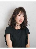 ムード 金沢文庫 hairdesign&clinic mu;dミディアムレイヤー×毛先ワンカール