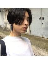 アカミー(AKAMEE)【頭の形を綺麗に】刈り上げ女子☆ハンサムマッシュショート