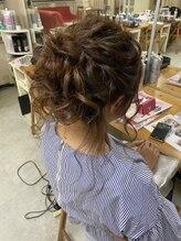 ヘアアレンジメント ボガスティーズ 溝の口店(Hair arrangement Vogusty's)後れ毛たっぷりゆるふわアップ☆