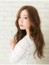 リノ ヘアー デザイン(Lino Hair Design)春夏のモテ髪ロングは透明感と柔らかさの【オーシャンカラー】☆