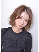 クリアーオブヘアー 栄南店(CLEAR of hair)【CLEAR】ゆるウェーブなボブスタイル