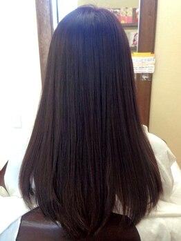 アリーム(Areem)の写真/大人気【弱酸性 肌にも髪にも優しいストレート】★アイロンを使わずダメージレスで上質なストレートヘアに!