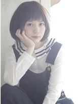 コーエン(cowen)ふんわりボブと透け感を演出した前髪の絶妙バランス☆