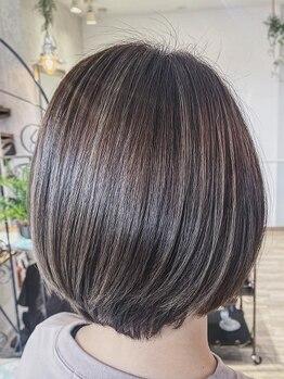 ルノン(Lunon)の写真/【10/1NEW OPEN】髪に悩む時間を最小に─。再現性高く、扱いやすく計算されたカットで毎朝のセットも楽に♪