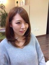 ヘアデザイン キュアプラス(hair design cure+)ミディアムスタイル