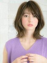 ヘアサロン ナノ(hair salon nano)外国人風外ハネロブ☆セミウェット仕上げで艶っぽく☆