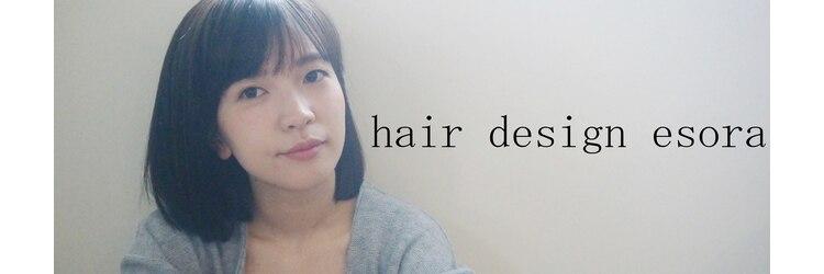 ヘアデザイン エソラ(hair design esora)のサロンヘッダー