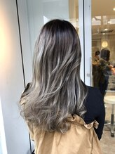 ヘアメイクミワ(HAIR+MAKE MIWA) gray sexy curl
