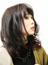 デコヘアー(DECO HAIR)クール暖色ミディアム