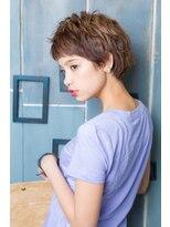 アッシュタカサキ(ash takasaki)20代30代 小顔耳かけ外国人風ハンサムショート
