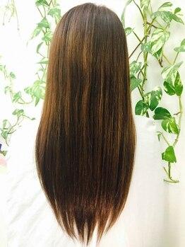 ヘアメイク イチゾー 高野店(Hair Make ICHIZO)の写真/熱ダメージを抑える薬剤で柔らかな仕上がりの縮毛矯正☆ツヤめく質感&キレイが際立つICHIZOイチオシMENU!