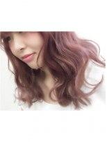 ヘアーアンドメイク ポッシュ 新宿店(HAIR&MAKE POSH)透明感*ピンクカラー