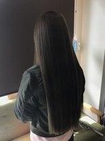 【LiL'】暗髪でも大人かわいい☆小顔ロング
