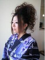 ヘアメイク イアラ 高柳(hair make iara)☆ゆかたスタイル☆