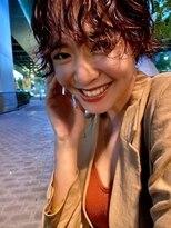 クリアーオブヘアー 栄南店(CLEAR of hair)ショートパーマ × オレンジ
