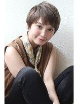 アンアミ オモテサンドウ(Un ami omotesando)【Unami】 ノームコア×うぶバングショート 島田梨沙