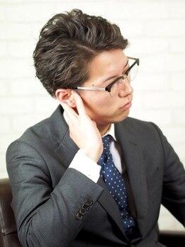 メンズ レオ 天六店(men's LEO)の写真/[メンズ専門店/平日21時まで受付可] 天神橋筋六丁目駅★[CUT+パーマorカラー¥7150でON/OFFきまるstyleに♪