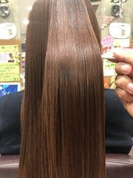 エメールヘア(aimere hair)の写真/前髪、顔周りのポイントだけもOK♪ボリュームは残しつつ、まっすぐサラサラのストレートヘアーを叶えます★