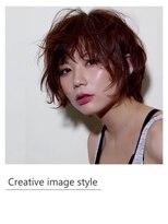 ヴェローグ シェ ブー(belog chez vous hair luxe)【Creative image styel】ショートパーマ