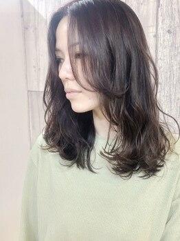 ピースハカタ(PEACE HAKATA)の写真/大人女性ならではの色気漂うモテ髪をご提案♪仕上がりに大満足間違いなし◎更にキラキラした毎日へ…☆