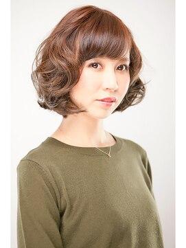 ヘア クチュール ミヨ(HAIR COUTURE MIYO)大人かわいいゆるふわミディアムボブ
