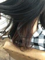 ヘアー チクタク(Hair Ciku-taku)インナーカラー×ピンクブラウン