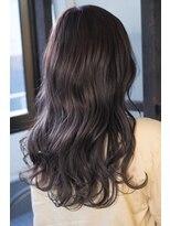 リタへアーズ(RITA Hairs)[RITA Hairs]Wカラーxフォギーバイオレット☆お客様BackShot