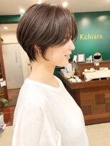 キアラ(Kchiara)前髪長めハンサムショートkchiara福岡天神川野直人