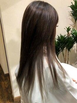 ファブ フォー ハーズ(fab 4 Heart's)の写真/ストレートは髪が傷むからやりたくない…一度当サロンのストレートをお試しください☆サラツヤ叶えます!