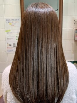 チアー ヘアリラクゼーション(cheer HAIRRELAXATION)の写真/自分史上最高のツヤ髪に!髪質改善ヘアエステが人気上昇中★あなたの髪も美髪へ導きます。