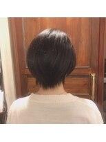 ヘアーデザイン リント(hair design Rinto)バッサリショート