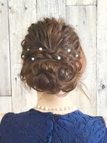 ヘアースペース ムーン(Hair Space MOON)結婚式やイベントなどの、ヘアーセット