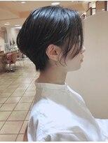 モリオ 原宿本店(morio from London)【morio 原宿】黒髪の似合うショートカットの髪型☆