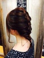 ヘアメイク エクルール(HairMake equroole)編みこみスタイル