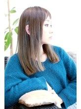 オズ ヘアーアンドトータルビューティー(OZ hair&total beauty)アプリエ ブルーアッシュ hair produce by ozy☆