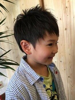 フリーク(freeK)の写真/【ママにもキッズにも好評価♪】ゆったりとした雰囲気◎親子で一緒にオシャレになれるプライベートSalon!