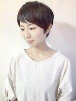 ラトリエコンタン(L´atelier Content)くせ毛風ベリーショート