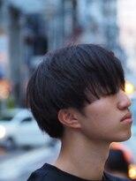リベルタ(liberta)メンズ黒髪マッシュ