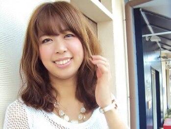 ヘアージン 野々市(hair Jin)の写真/【似合わせパーマ+カット8500円★】まとまりの良いカットが好評!綺麗に伸ばしたいなら《hair Jin》へ♪