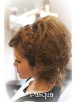 ヘアセットサロン パスクア(Hair Set Salon Pasqua)編み込みラブリースタイル