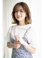 マグノリア オモテサンドウ(MAGNOLiA Omotesando)イヤリングカラーがポイント♪ニュアンスボブヘア・・・HINATA
