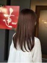 美容室 蓮(REN)髪質改善カラー!