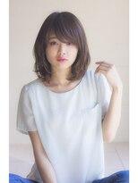 【Ramie寺尾拓巳】大人かわいい3Dカラーノットヘアミディアム